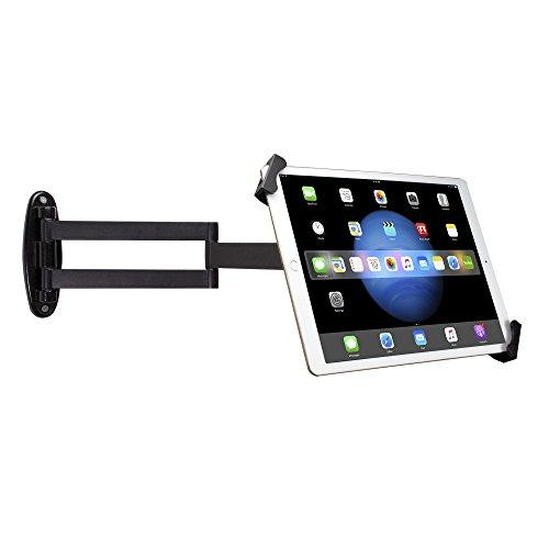 "Wall Mount, Cta Digital Articulating Security Holder For 7-13"" Tablets/Ipad 10.2-Inch (7Th Gen.), Ipad Air 3, Ipad Mini 5, 12.9-Inch Ipad Pro, 11-Inch Ipad Pro, Ipad Gen 6,/Surface Pro 4 &Amp; More"