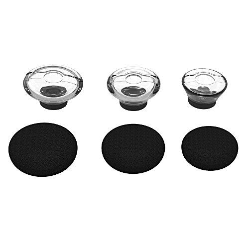 Wiki Valley 3X Earpieces For Plantronics Voyager Legend Eartip Kit,Plantronics Voyager 5200 5220 5210 Bluetooth Headset Foam Covers-Large Medium Small