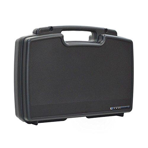 Casematix Mini Drone And Accessory Travel Case Compatible With Parrot Airborne Night Or Cargo Minidrone With Hull Bumpers, Charger, Battery, Propellers And More Includes Case Only
