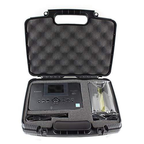 Xpack Portable Travel Hard Case For Selphy Printer Cp1200,Cp1300,Cp910