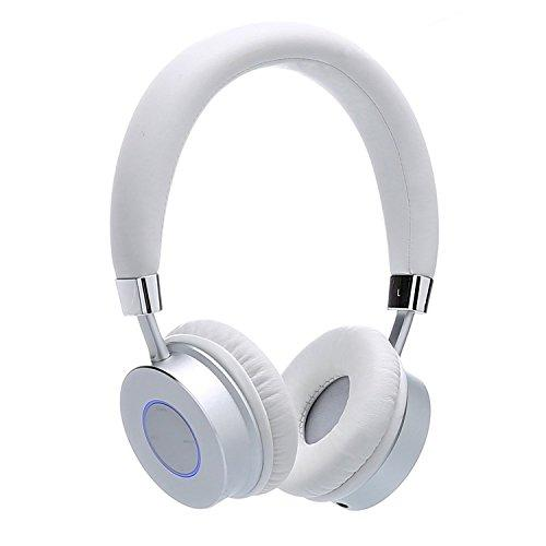 Contixo Kb-200 Premium Kids Headphones With Volume Limit Controls (Max 85Db), Bluetooth Wireless Headphones Over-The-Ear With Microphone (White) - Best Gift