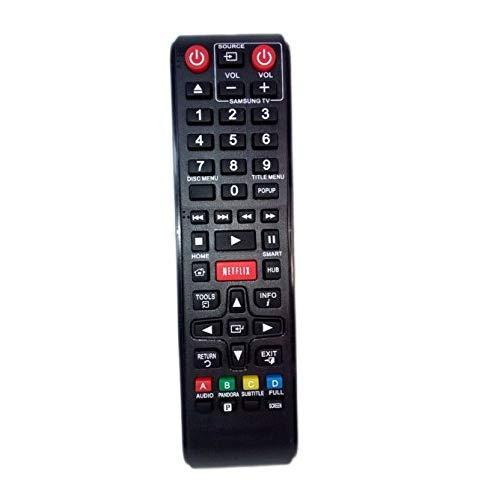 Replaced Remote Control Compatible For Samsung Bd-E5700/Za Ak5900166A Bdem57C/Za Bd-Fm59 Bd-F7500/Za Bd Blu-Ray Dvd Disc Player