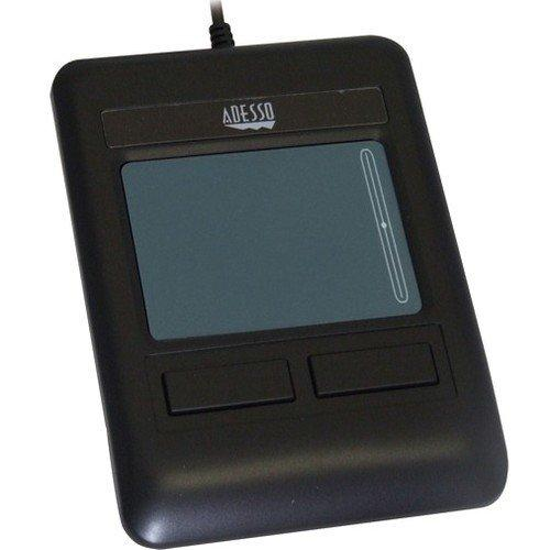 Adesso Touchpad - 2.4 X 1.7 In - 2 Buttons - Wired - Usb - Black