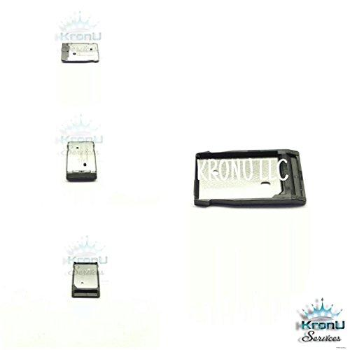 Sim Card Slot Tray Holder For Htc 2Pst2, 530, D530N, 630, D630N Black By Kronu Llc