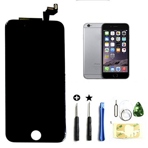 Select Us 3D Touch Iphone 6S Lcd Screen Replacement Digitizer Frame Assembly Full Set (4.7 Inch) In Black
