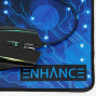 Enhance Computer Pc Gaming Mouse Adjustable 3500 Dpi Led Lighting, Accuracy Tracking Optical Sensor, Ergonomic 6 Button Design, Braided Cable, Color Changing, Slim Profile