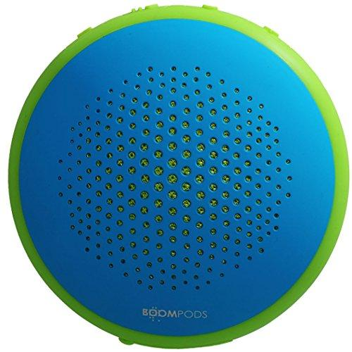 Boompods Fusion Bluetooth Outdoor Portable Speaker (Blue/Green) - Dual Pairing - Massive Bass - Waterproof - 8 Hour Rechargable Battery