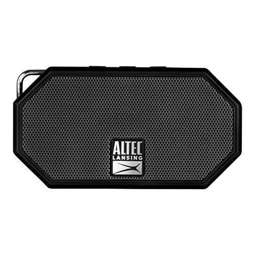 Portable Bluetooth Speaker - Ip67 Waterproof Outdoor Speaker With 30-Foot Range And 6-Hour Battery - Floating Sand-Proof Shockproof Wireless Speaker For Beach, Shower, Home And Car (Black)