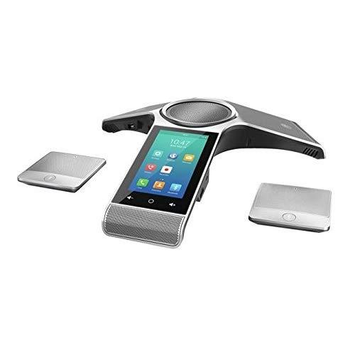 Yealink Cp960-Wirelessmic Conference Ip Phone, 2 Wireless Expansion Microphones. 5-Inch Color Touch Screen. 802.11Ac Wi-Fi, 802.3Af Poe, Power Adapter Not Included