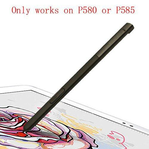 Touch Stylus S Pen Replacement Parts For Galaxy Tab A 10.1 2016 Sm-P580 P580 P585 (Don'T Work On T580 &Amp; T585) Black