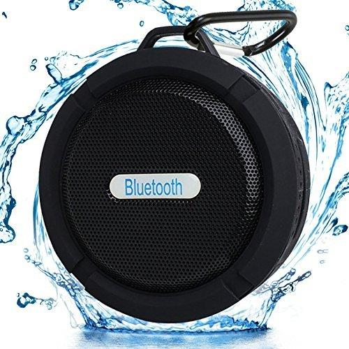 Swellsound Shower Speaker Bluetooth Waterproof Wireless All Devices Portable For Outdoor Suction Cup Hook Built-In Mic Hands-Free Speakerphone Supports Tf Card The Best Deal For Good Music And Travel