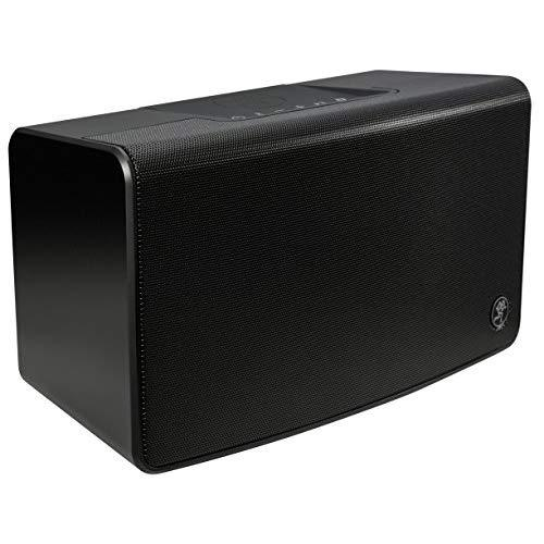 """Mackie Freeplay Home Portable Bluetooth Speaker With Bluetooth &Amp; 1/8"""" Aux Inputs, Black"""