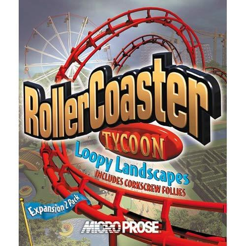 Roller Coaster Tycoon Loopy Landscapes (Jewel Case) - Pc