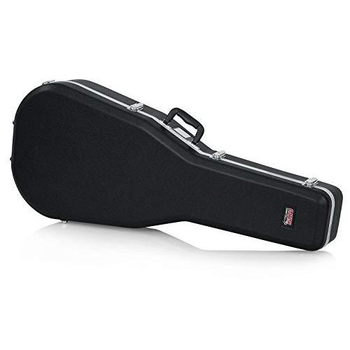 Gator Cases Deluxe Abs Molded Plastic Case For Dreadnaught Styled Acoustic Guitars (Gc-Dread)