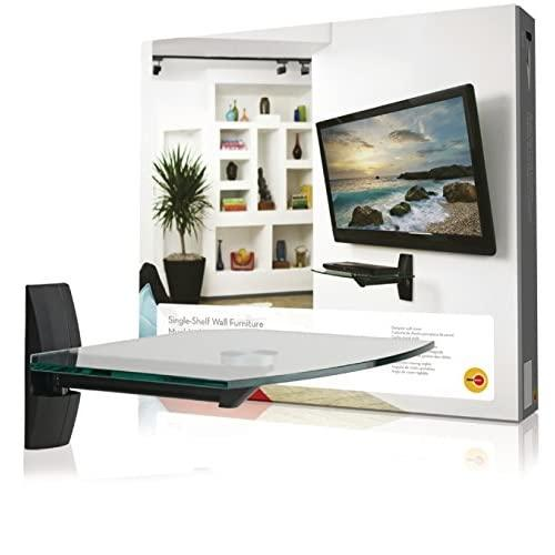 Omnimount Ecsb Component Shelf Wall Shelf For Tvs And Video Accessories, Black