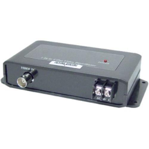 Speco Viddist 1 In/4 Out Video Distribution Amplifier 1 Input To 4 Output Video Bnc Splitter