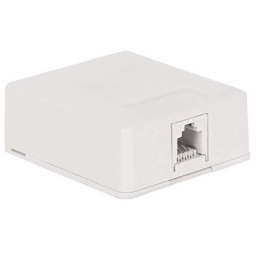 Icc Surface Mount Jack In 6P6C, White