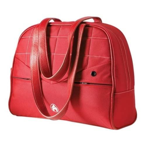 Sumo Me-Sumo99157 15-Inch Womens Laptop Purse (Red Leather/Red Nylon)