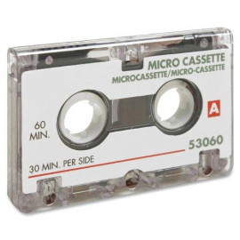 Sparco Dictation Cassette, Micro, 60 Minute (Spr53060)