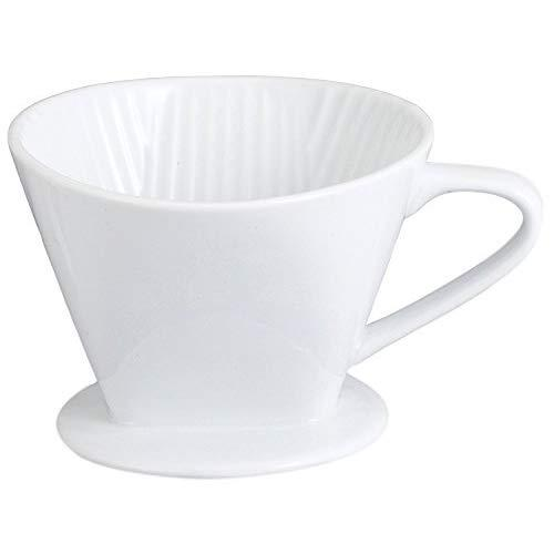 Hic Harold Import Co. Nt1052 Coffee Filter Cone, No. 4, White