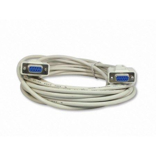 Your Cable Store 25 Foot Db9 9 Pin Serial Port Cable Female/Female Rs232