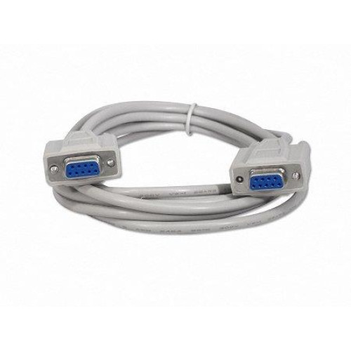 Your Cable Store 10 Foot Db9 9 Pin Serial Port Null Modem Cable Female/Female Rs232