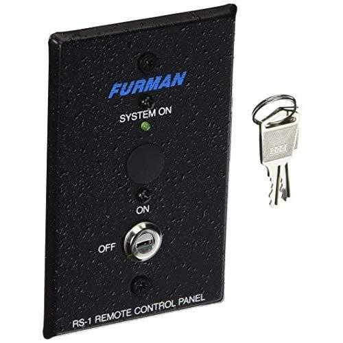 Furman Rs-1 Remote System Control Of Furman Power Sequencers, Keyswitch Panel, Maintained Contact On/Off Sequence
