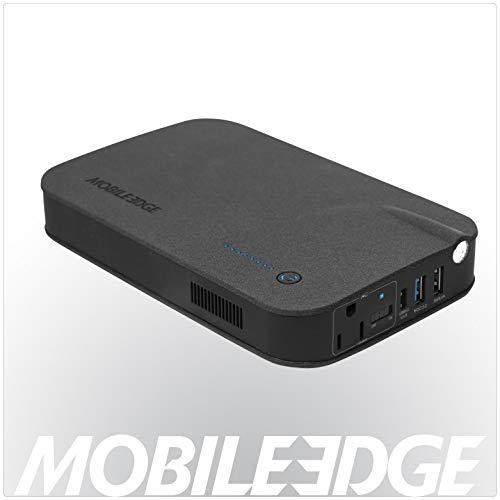 Mobile Edge Meacl27000 Core Power Ac Usb 27, 000Mah Rechargeable Power Station And Portable Laptop Charger, Black