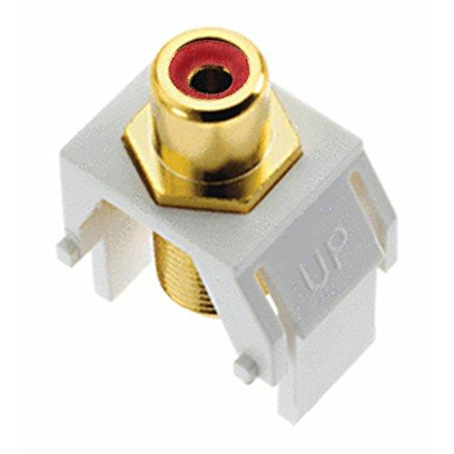 Legrand - On-Q Wp3462Wh Keystone Redrca To Fconnector, White