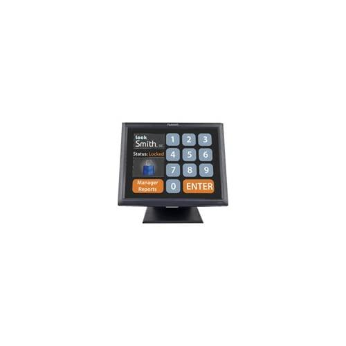 """Planar Systems 997-5967-00 Model Touch Screen Monitor, Pt1545R, Economical 5-Wire Resistive With Dual Serial/Usb, Internal Power, Speakers, 15"""" Height, Black"""