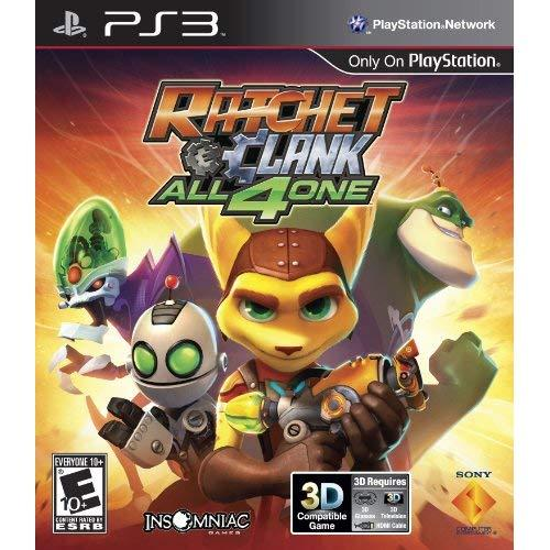 Sony Playstation 98175 Ratchet &Amp; Clank: All 4 One Ps3
