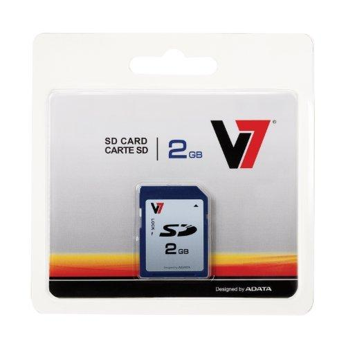 V7 Vasd2Gr-1N 2Gb Secure Digital Sd Card - Store / Transportphotos, Video And Data