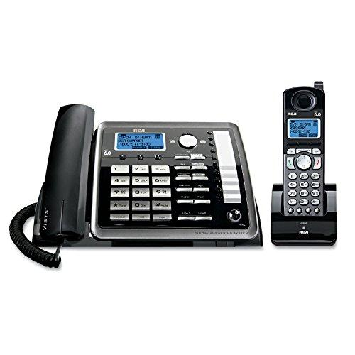 Rca25255Re2 - Visys 25255Re2 Two-Line Corded/Cordless Phone System With Answering System