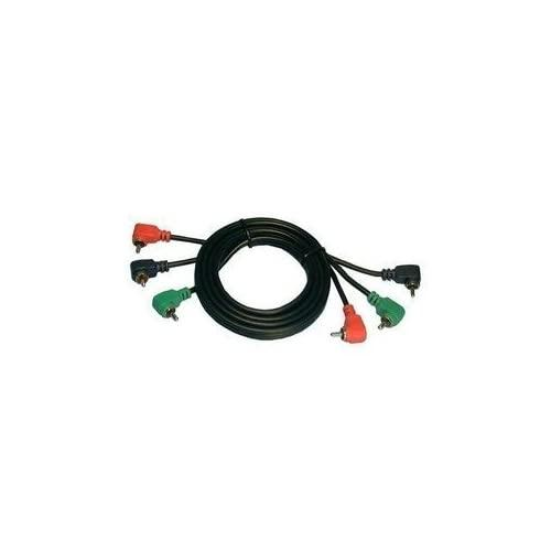 Philmore Rgb Component Video Cable W/Right Angle Connectors - 12' : 45-3212 (1)