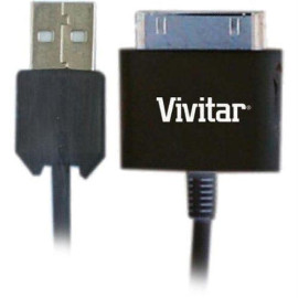 Vivitar V10188C-Ipd Usb Charge/Sync Cable For Ipad/Ipod/Iphone
