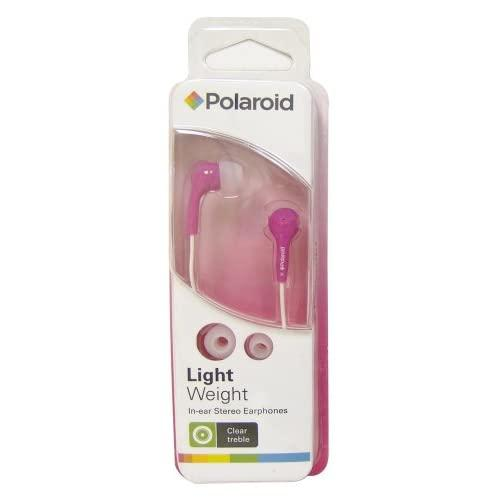 Polaroid Pep14Pnk In-Ear Earbud , Pink (Discontinued By Manufacturer)