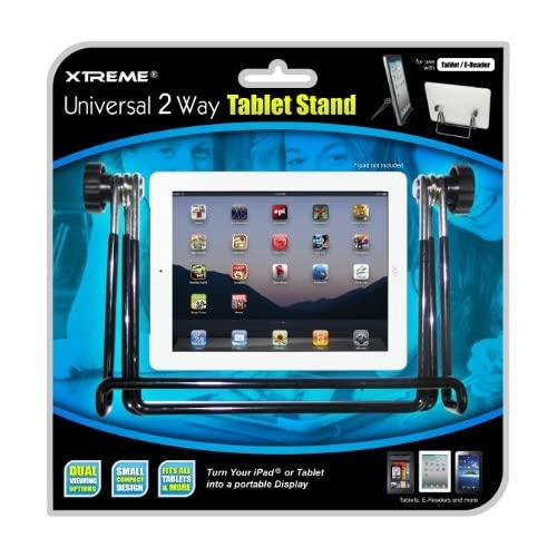 Xtreme 59001 2 Way Universal Stand - Holder - Retail Packaging - Black