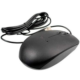 New Genuine Dell 09Rrc7 Ms111-L Optical Usb Wired Scroll Mouse Mice Look Black