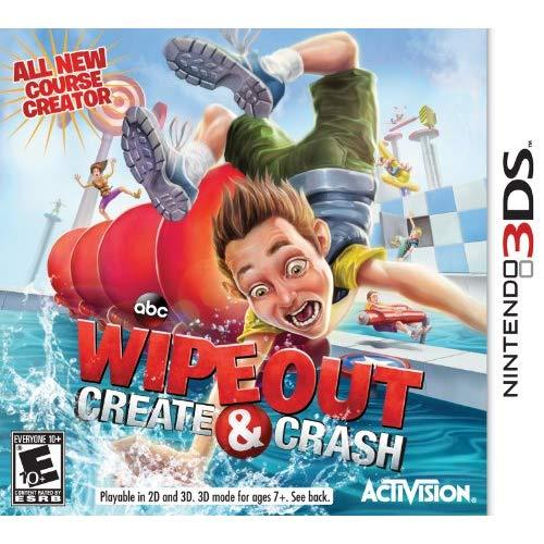 Wipeout: Create &Amp; Crash - Nintendo 3Ds