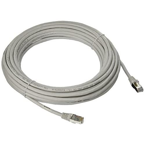 C2G 00930 Cat6 Cable - Snagless Shielded Ethernet Network Patch Cable, White (35 Feet, 10.66 Meters)