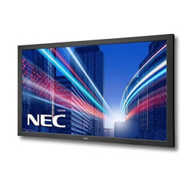 Nec Display V652-Tm Multisync, 65'' 1080P Full Hd Led-Backlit Lcd Display, Black