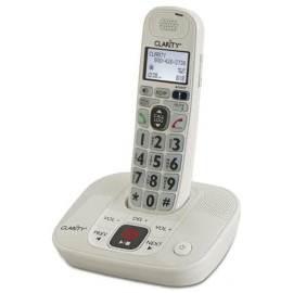 Clarity 53714.000 D714 Moderate Hearing Loss Cordless Amplified Phone With Dect 6.0 Technology