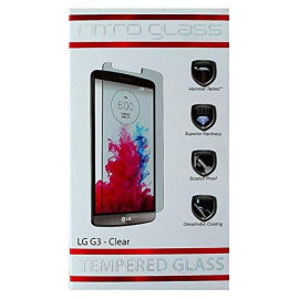 Znitro Screen Protector For Lg G3 - Retail Packaging - Clear