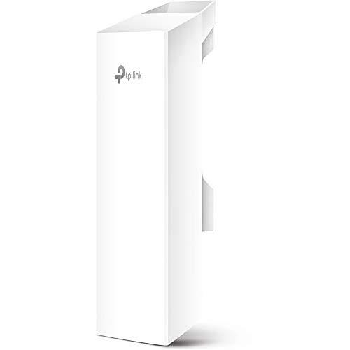 Tp-Link Long Range Outdoor Wifi Transmitter - 5Ghz, 300Mbps, High Gain Mimo Antenna, 15Km+ Point To Point Wireless Transmission, Poe Powered W/ Free Poe Adapter, Wisp Mode(Cpe510)