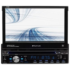 "Planet 7"" Sdin Touchscreen Monitor Bluetooth Dvd/Cd Usb/Sd"