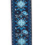 Planet Waves 2-Inch Woven Guitar Strap, Blue Monterey