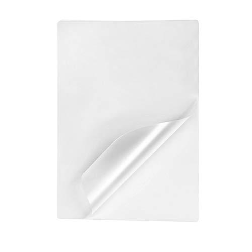 Tyh Supplies 100-Pack 5 X 7 Inch 5 Mil Clear Hot Glossy Thermal Laminating Pouches Lamination Sheet Laminator Pockets