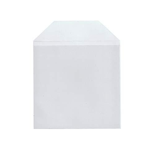 Maxtek 100 Pieces Clear Transparent Cpp Plastic Cd Dvd Sleeves Envelope Holder, 100 Micron Thickness.