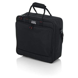 """Gator Cases Padded Nylon Mixer/Gear Carry Bag With Removable Strap; 15.5"""" X 15"""" X 5.5"""" (G-Mixerbag-1515)"""