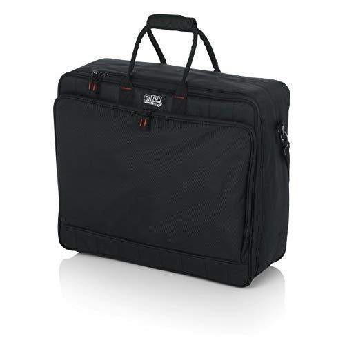 """Gator Cases Padded Nylon Mixer/Gear Carry Bag With Removable Strap; 21"""" X 18.5"""" X 7"""" (G-Mixerbag-2118)"""